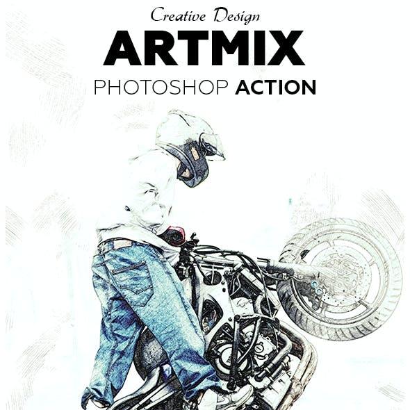 Artmix Photoshop Action