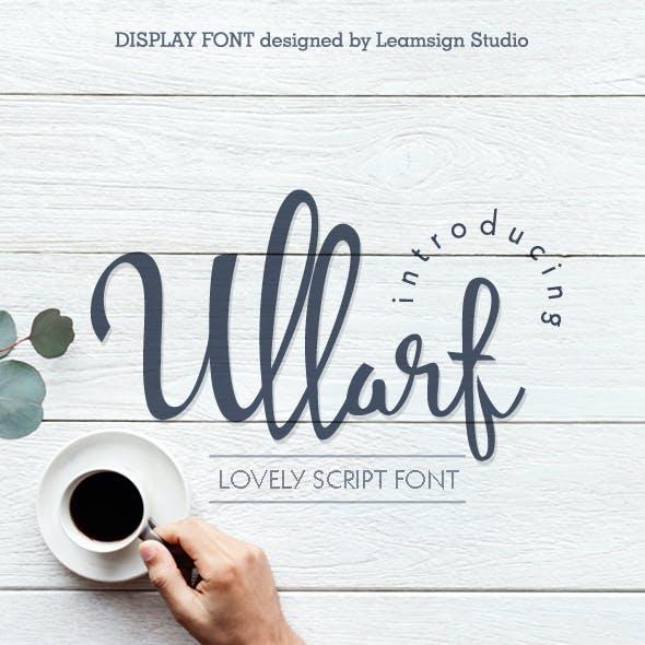 Ullarf Font