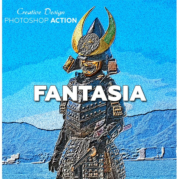 Fantasia Photoshop Action