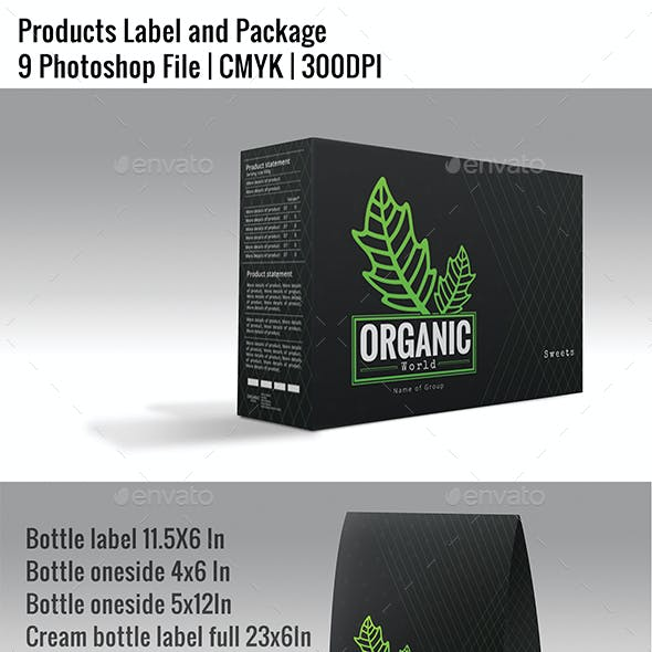 Products Label and Package