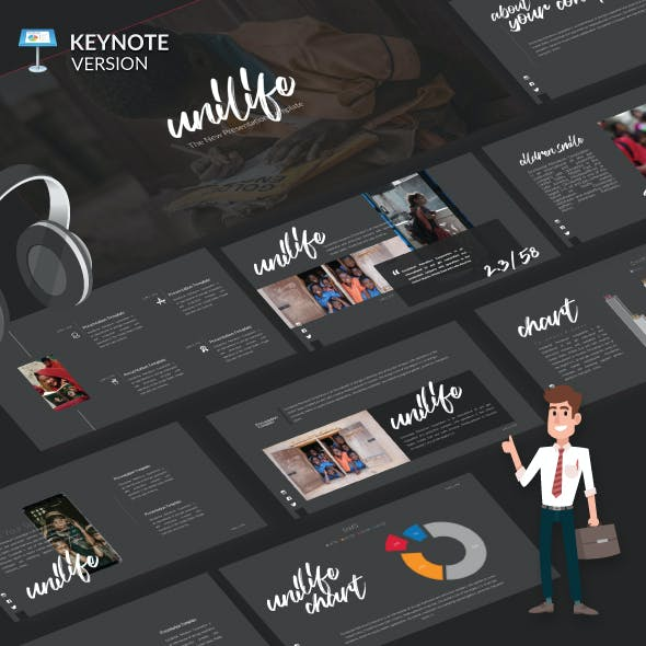 Unilife - Keynote Presentation Template