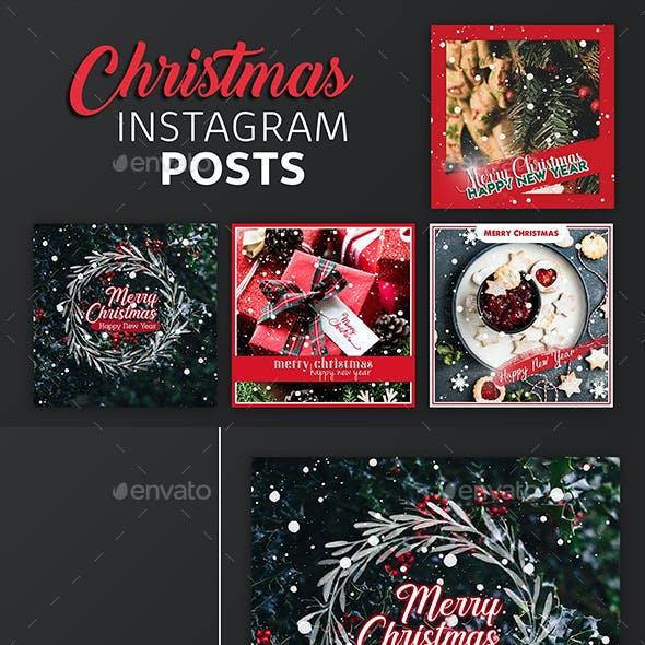 Christmas Instagram Post Templates