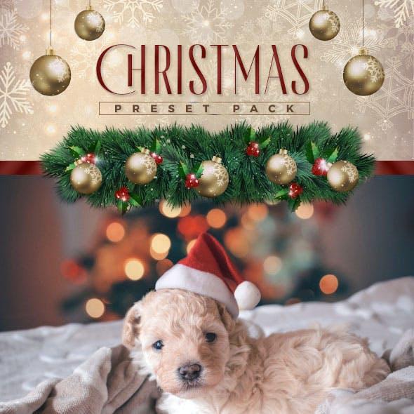 4 Lightroom Presets - Christmas Pack (+Mobile Version)