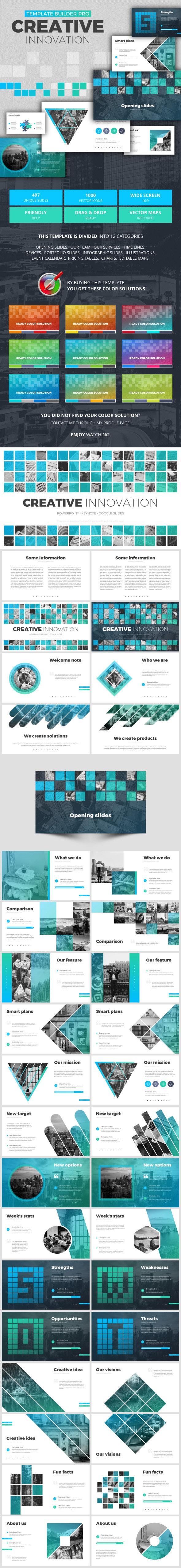 Creative Innovation - Creative Keynote Templates