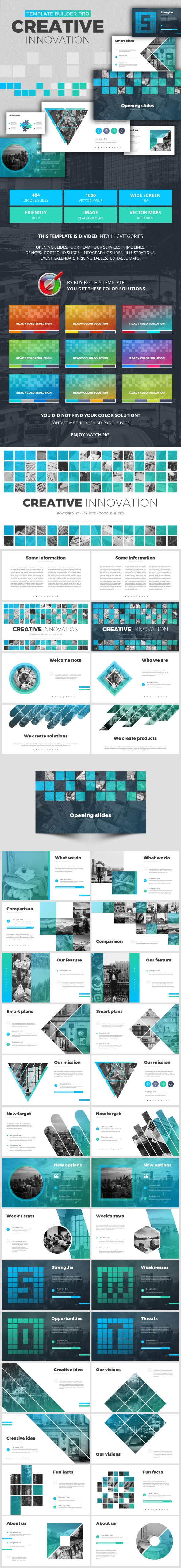 Creative Innovation - Google Slides Presentation Templates