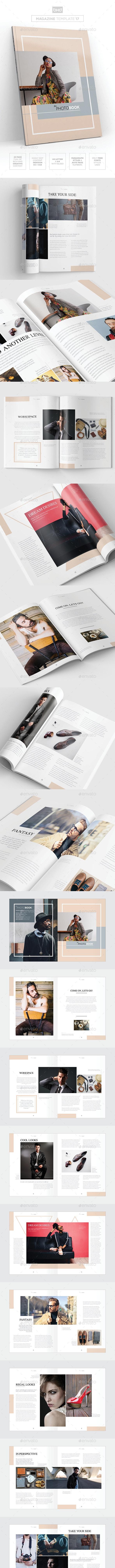 Magazine/Lookbook Template InDesign & Photoshop 05 - Magazines Print Templates