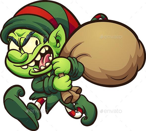 Evil Elf - Christmas Seasons/Holidays