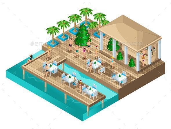 Isometric Dancing on the Beach - Miscellaneous Conceptual