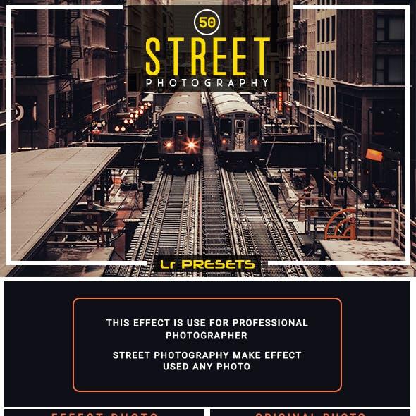 50 Street Photography Lightroom Presets