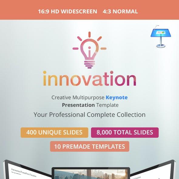 Innovation Multipurpose Keynote Presentation Template