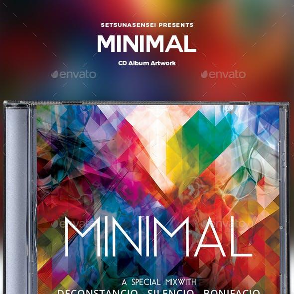Minimal CD Album Artwork