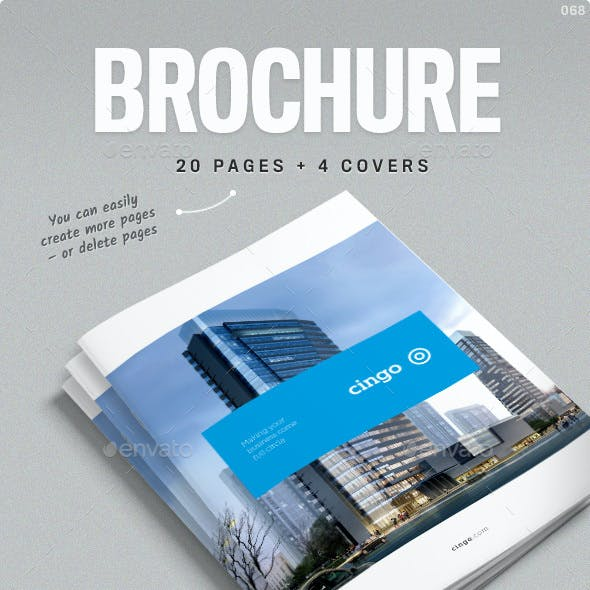 Brochure Template for Indesign - Cingo