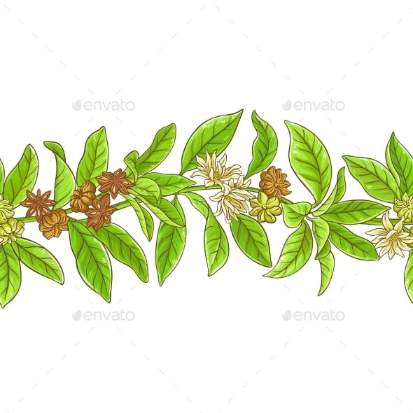 Anise Branches Pattern