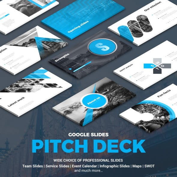 Pitch Deck Google Slides