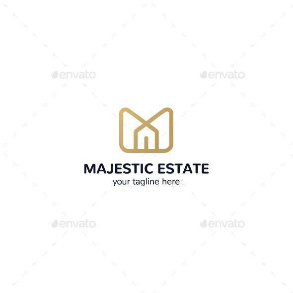 Real Estate - Letter M Logo