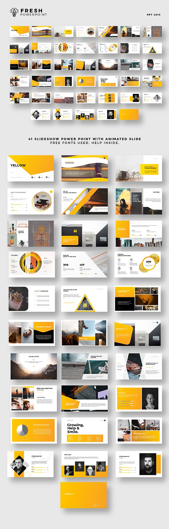 Fresh Presentation - Presentation Templates