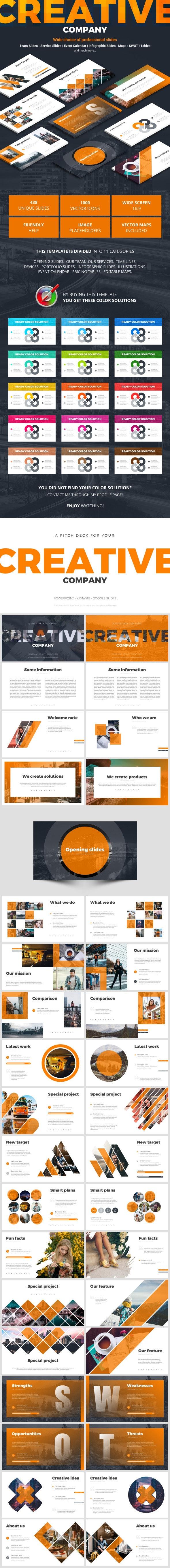 Creative Company - Google Slides Presentation Templates