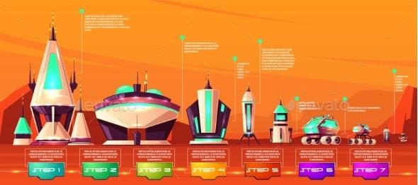 Space Exploration Technologies Evolution Vector - Technology Conceptual