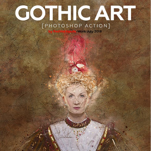 Gothic Art Photoshop Action