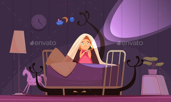 Childhood Fears Background - Backgrounds Decorative