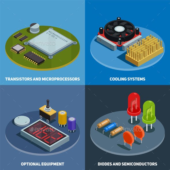 Semiconductor 2x2 Design Concept