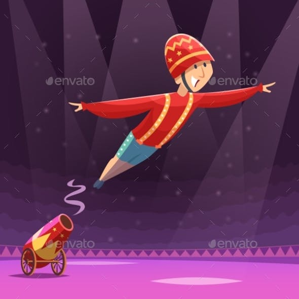Circus Cannon Show