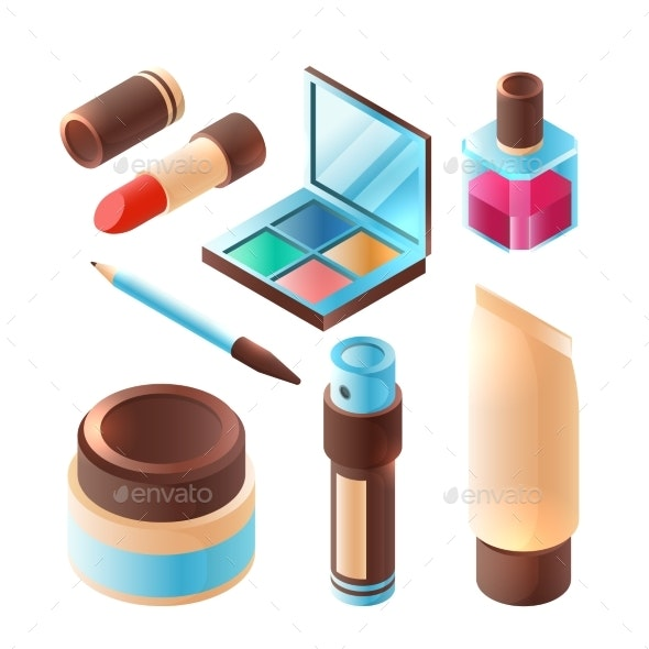 Beauty Makeup Accessories - Man-made Objects Objects