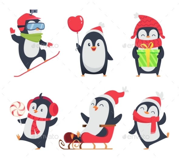 Penguin Characters - Animals Characters