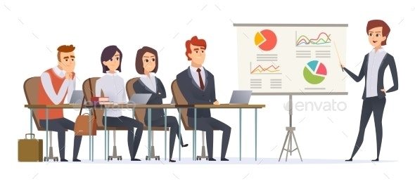Business Presentation Characters - People Characters