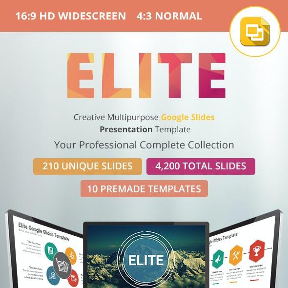 Elite Google Slides Presentation Template