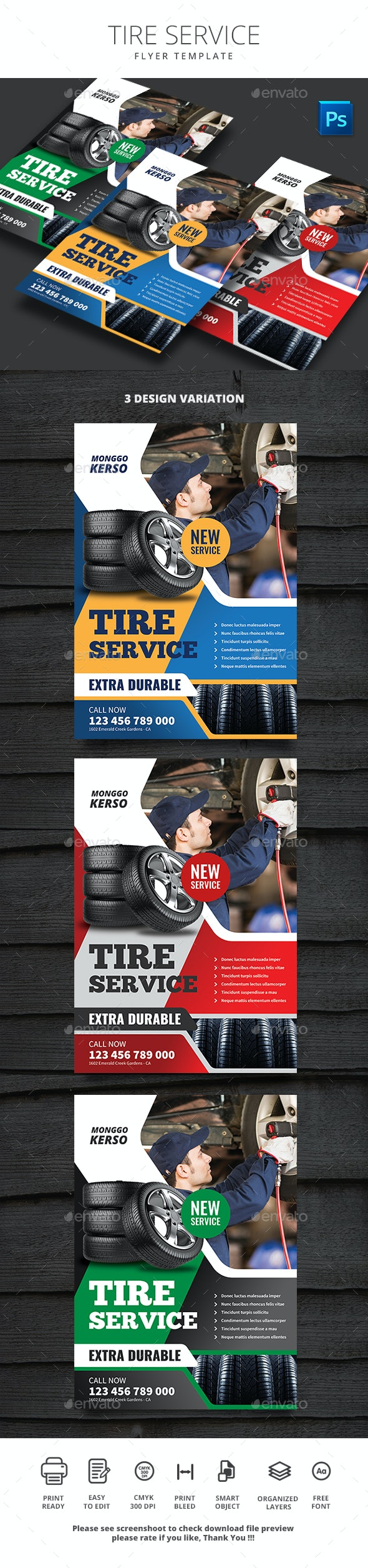 Tire Service - Commerce Flyers