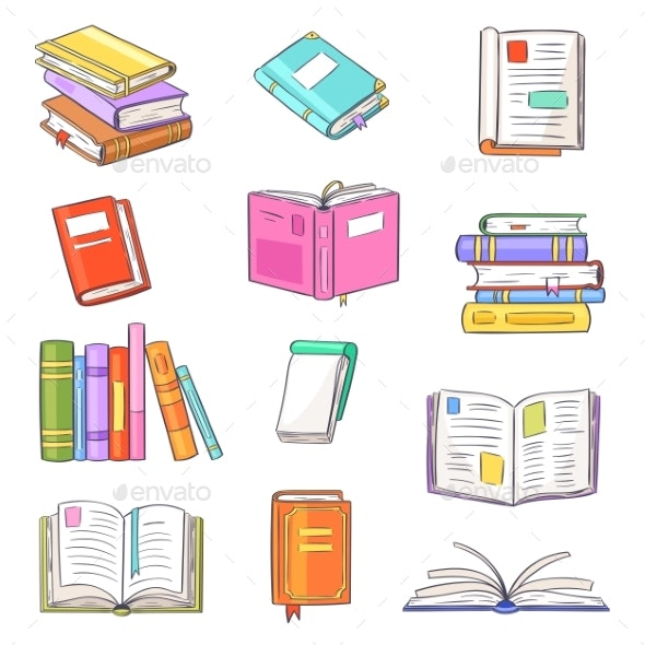 Books Vector - Miscellaneous Vectors