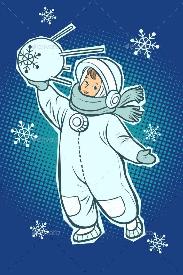 Little Boy Astronaut - People Characters