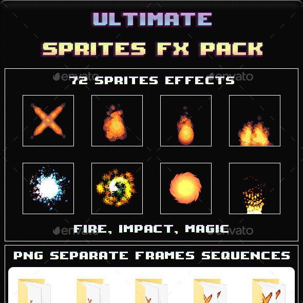 Ultimate Sprites FX Pack