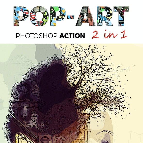 Pop Art 2 in 1