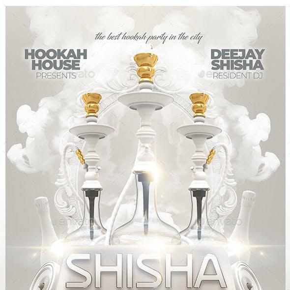 Shisha White Party