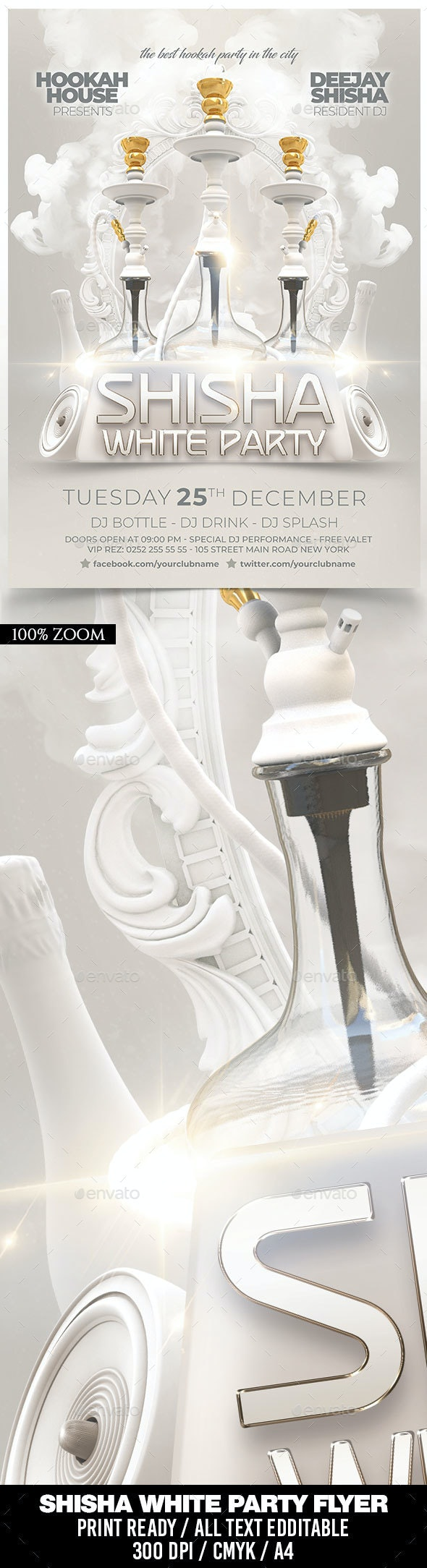 Shisha White Party - Clubs & Parties Events