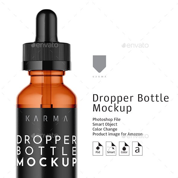 Dropper Bottle Mockup 7