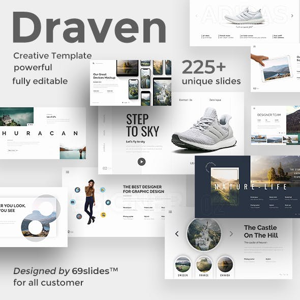 Draven Creative Powerpoint Template