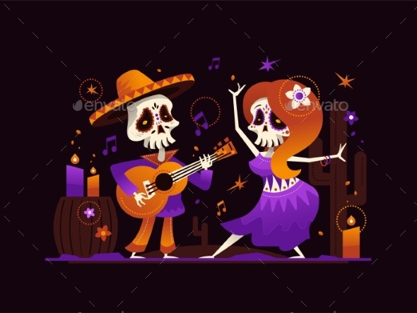 Dia De Los Muertos - Miscellaneous Seasons/Holidays