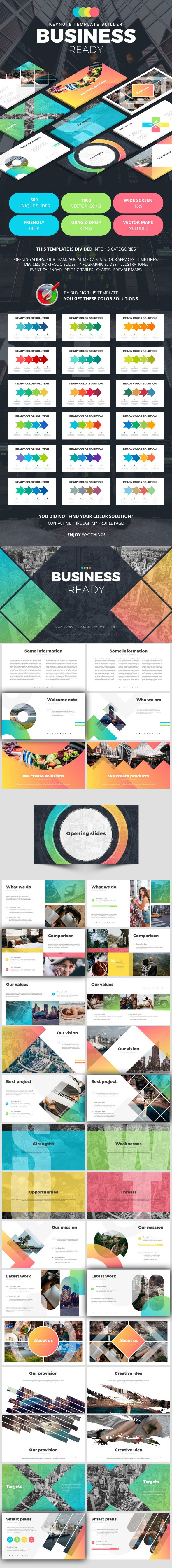 Business Ready - Business Keynote Templates
