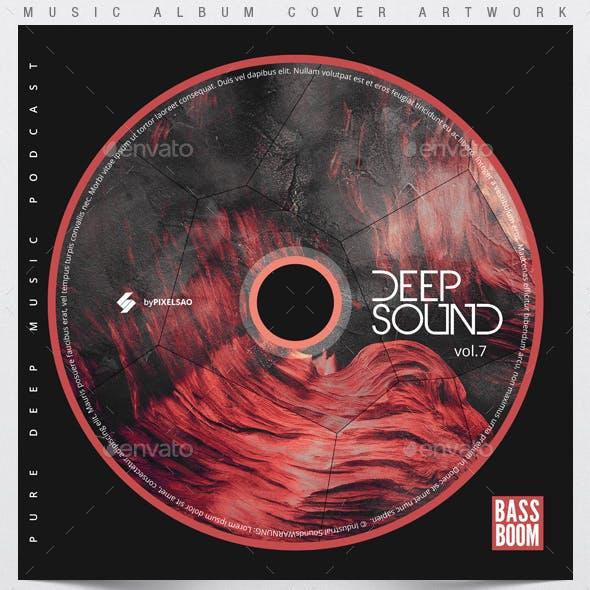 Deep Sound vol.7 - Music Album Cover Artwork Template
