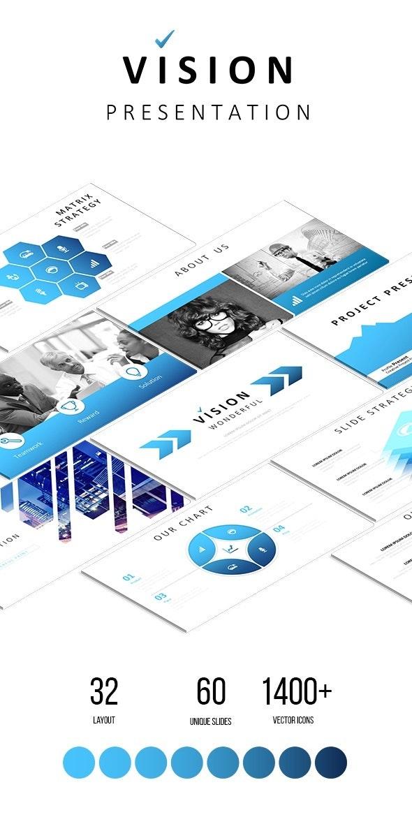 Vision - Multipurpose Google Slides Template - Google Slides Presentation Templates