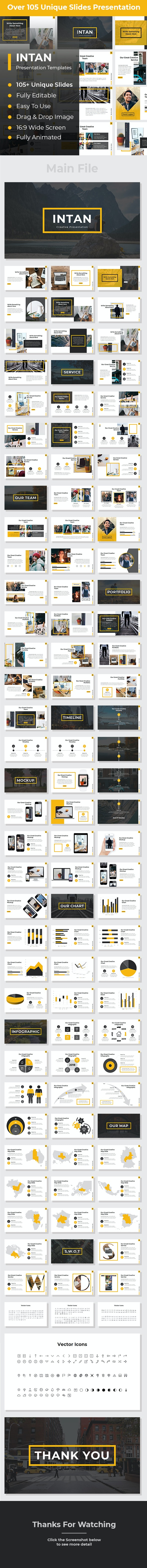 Intan Creative PowerPoint - Creative PowerPoint Templates