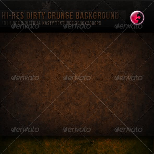 10 Hi-res Dirty Grunge TeXture/Background