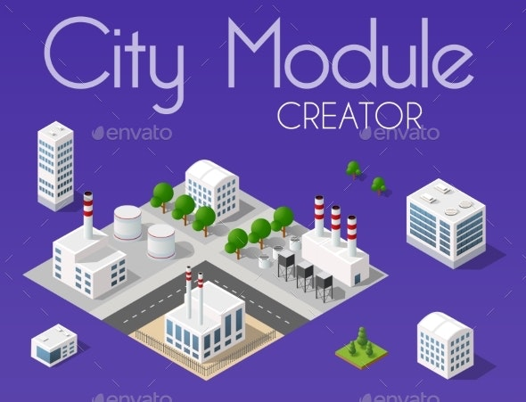 City Module Creator - Buildings Objects