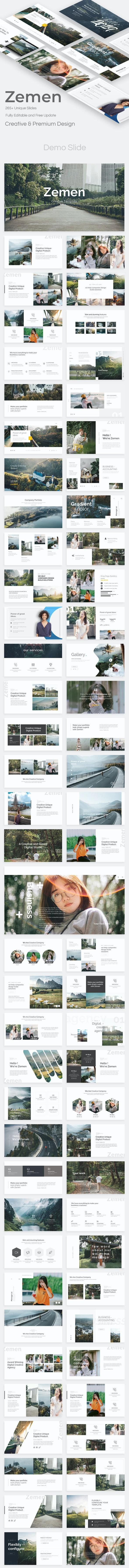 Zemen Premium Powerpoint Template - Creative PowerPoint Templates