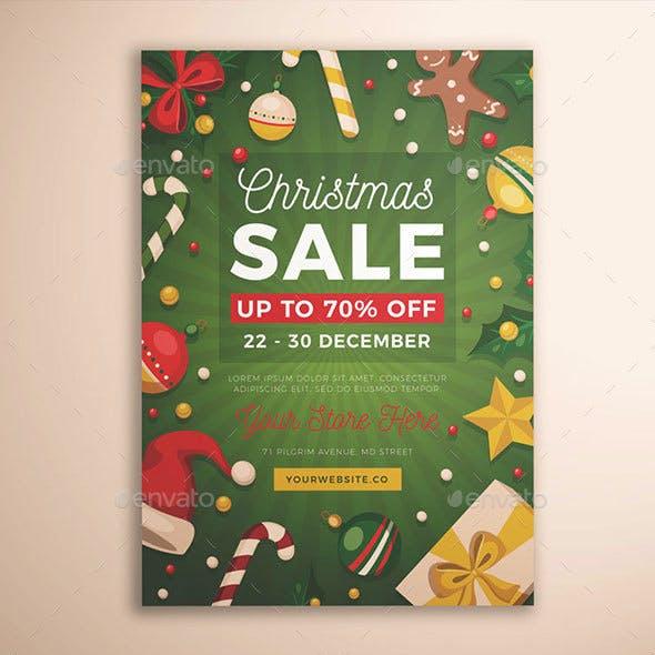 Christmas Sale Flyer Vol. 03
