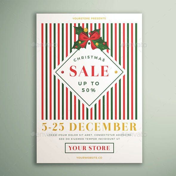 Christmas Sale Flyer Vol. 04