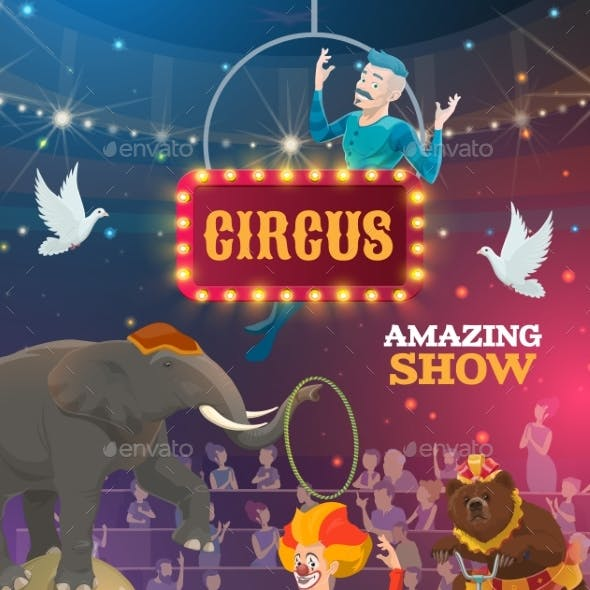 Big Top Circus Animal and Clown Show